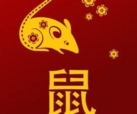 บัตรตรุษจีน 2563/2020 ปีหนูมทอง